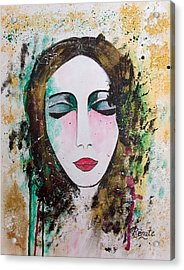 My Soul The Way Of The Clouds Acrylic Print