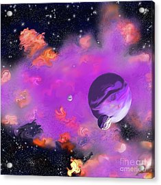 My Space Acrylic Print by Methune Hively
