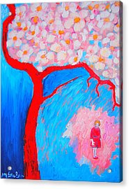 Acrylic Print featuring the painting My Spring by Ana Maria Edulescu