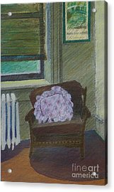 My Student Apartment Acrylic Print by Suzn Art Memorial