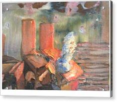 My Sudio  Acrylic Print by Hal Newhouser