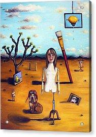 My Surreal Life Acrylic Print by Leah Saulnier The Painting Maniac