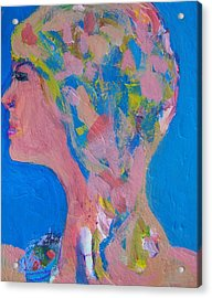My Teacher--psychological Child Abuser Acrylic Print by Judith Redman