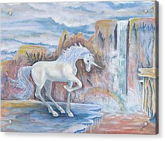 My Unicorn Acrylic Print