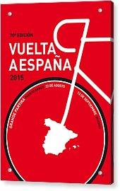 My Vuelta A Espana Minimal Poster 2015 Acrylic Print