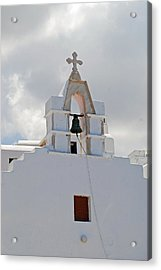 Mykonos Church Acrylic Print by Armand Hebert