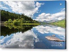 Mymbyr Lake Acrylic Print by Adrian Evans