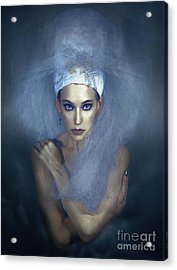 Myramyth Acrylic Print by Spokenin RED