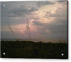 Myrtle Beach At Dusk Acrylic Print