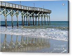 Myrtle Beach Pier Acrylic Print