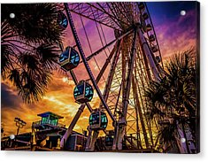 Myrtle Beach Skywheel Acrylic Print