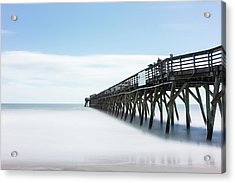 Myrtle Beach State Park Pier Acrylic Print by Ivo Kerssemakers
