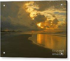 Myrtle Beach Sunrise Acrylic Print