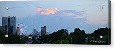 Myrtle Beach Sunset Acrylic Print by Gordon Mooneyhan
