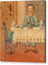Mysterious Guest Acrylic Print by Kestutis Kasparavicius