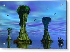 Mysterious Islands Acrylic Print