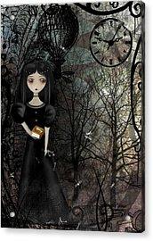 Mysterious Kingdom Acrylic Print by Charlene Zatloukal
