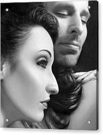 Mysterious Love  Acrylic Print by Jaeda DeWalt