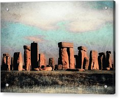 Mysterious Stonehenge Acrylic Print by Jim Hill