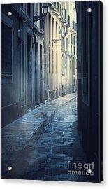 Mysterious Street Acrylic Print by Svetlana Sewell