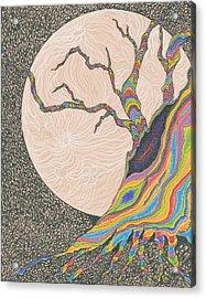 Mysterious Universe Acrylic Print by Rachel Zuniga
