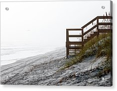 Acrylic Print featuring the photograph Mystery Beach by Anthony Baatz