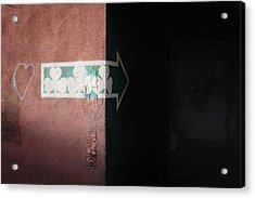 Acrylic Print featuring the photograph Mystery In The Doorway by Monte Stevens