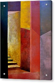Mystery Stairway Acrylic Print by Michelle Calkins