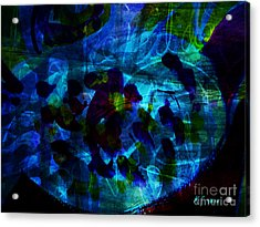 Mystic Creatures Of The Sea Acrylic Print