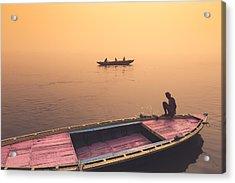 Mystic Ganges Acrylic Print