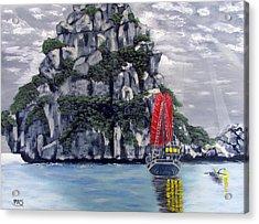 Mystic Island Acrylic Print by Pete Souza