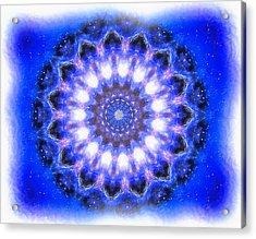 Mystic Mandala Acrylic Print