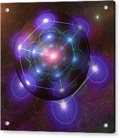Mystical Metatron Acrylic Print