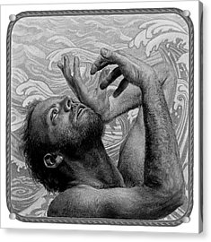 Mystic Ocean Acrylic Print by Frank Mulvey