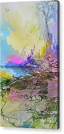 Acrylic Print featuring the painting Mystic Rendevous by Mary Sullivan