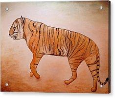 Mystic Tiger Acrylic Print