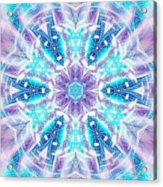 Acrylic Print featuring the digital art Mystic Universe 1 Kk2 by Derek Gedney