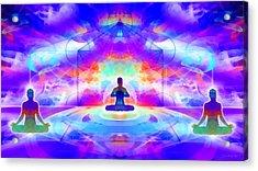 Acrylic Print featuring the digital art Mystic Universe 10 by Derek Gedney