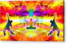 Acrylic Print featuring the digital art Mystic Universe 11 by Derek Gedney