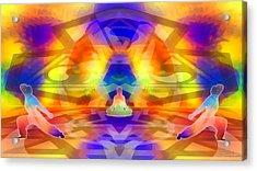 Acrylic Print featuring the digital art Mystic Universe 12 by Derek Gedney