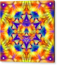 Acrylic Print featuring the digital art Mystic Universe Kk 12 by Derek Gedney