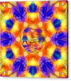Acrylic Print featuring the digital art Mystic Universe 12 Kk2 by Derek Gedney