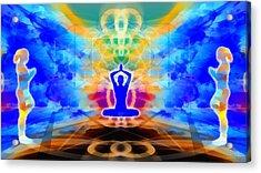 Acrylic Print featuring the digital art Mystic Universe 13 by Derek Gedney