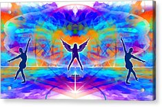 Acrylic Print featuring the digital art Mystic Universe 15 by Derek Gedney