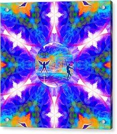 Acrylic Print featuring the digital art Mystic Universe 15 Kk2 by Derek Gedney