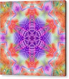 Acrylic Print featuring the digital art Mystic Universe 3 Kk2 by Derek Gedney