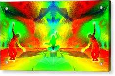 Acrylic Print featuring the digital art Mystic Universe 9 by Derek Gedney