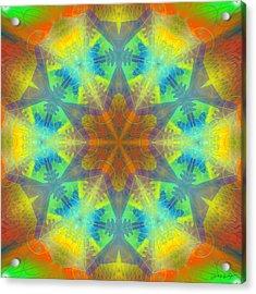 Acrylic Print featuring the digital art Mystic Universe 9 Kk2 by Derek Gedney