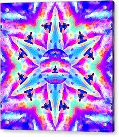 Acrylic Print featuring the digital art Mystic Universe Kk 10 by Derek Gedney