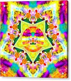 Acrylic Print featuring the digital art Mystic Universe Kk 11 by Derek Gedney